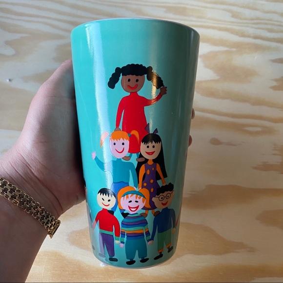 save the children collectible illustration mug